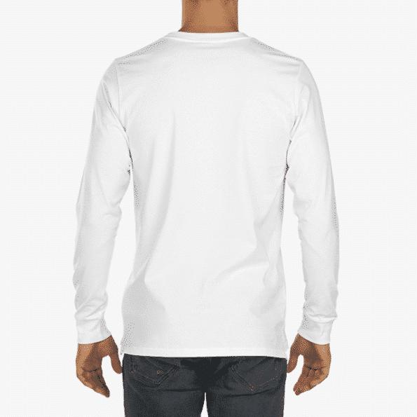 Longsleeve Mens T Shirt Back
