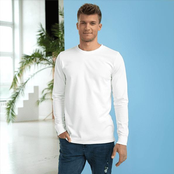 Mens Longsleeve T Shirt Livestyle 1